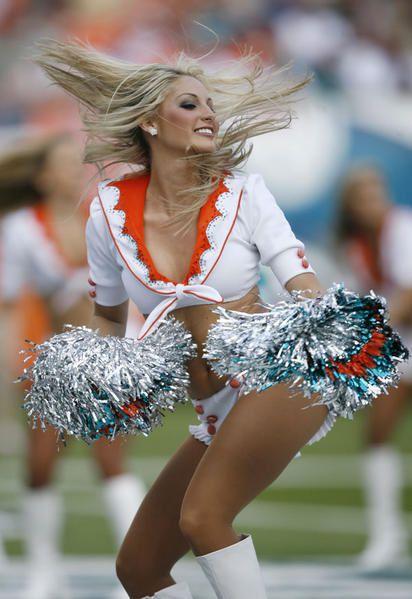 Les plus belles cheerleaders d'outre atlantique