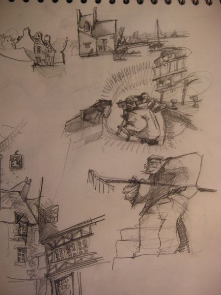 Album - croquis divers