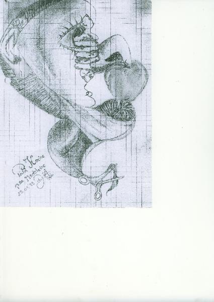 ils datent de presque 10, y'en a un qui n'est pas de moi mais de Hocine, ami et artiste  parisien, c'est le portrait avec un biscuit ds la bouche (je crevais la dalle)
