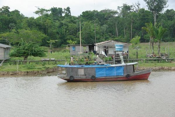 Remontée de l'Amazonie Brésilienne avec escales...