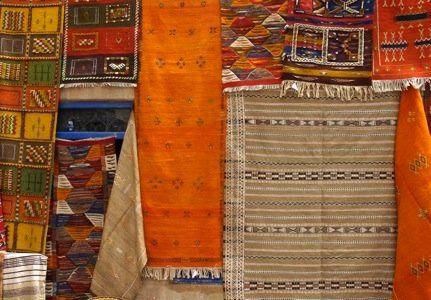 Pour le plaisir des yeux, un panel d'objets magnifiques fait main par des artisans marocains
