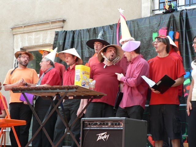 les 7 chorales en scène pour le trophée des Victoires de la Butte