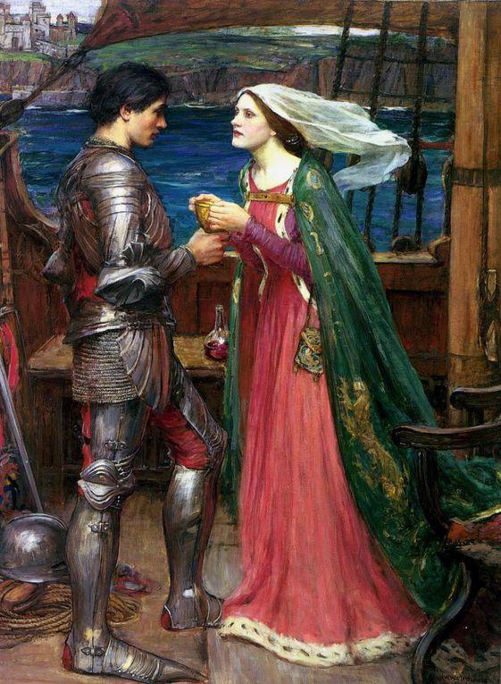 Quelques tableaux qui peuvent vous inspirer pour des costumes de fantasy. Principalement des préraphaélites.