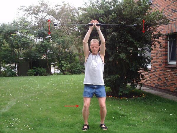 """Hier sind verschiedene Ausgangsstellungen für Übungen aus """"Schwing dich fit!"""" zu sehen."""
