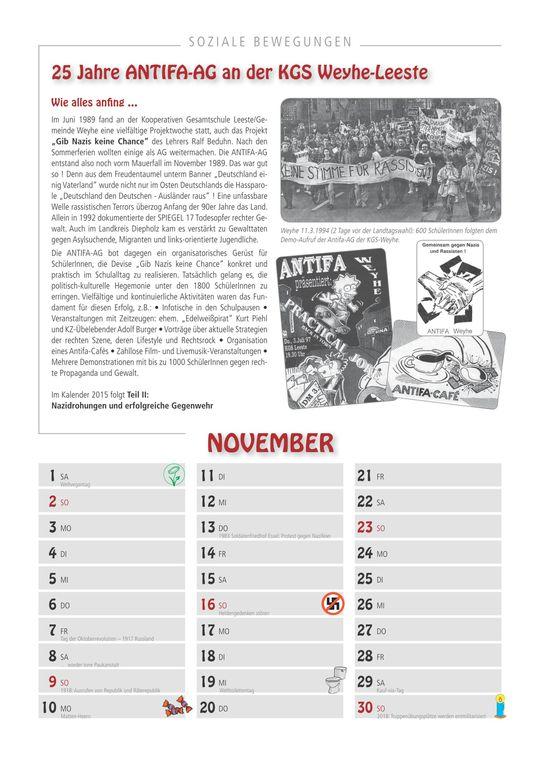Album - Soziale Bewegungen Kalender 2014