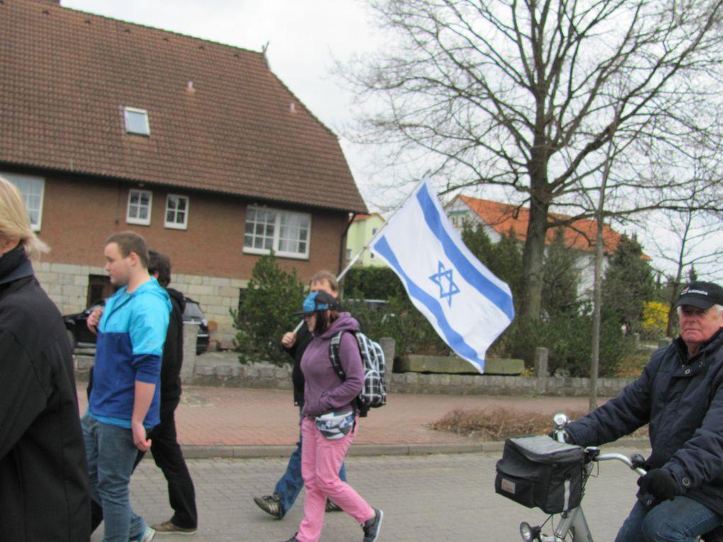 Demo und Mahnwache gegen die Ludendorffer am 6.4. 2012alle Bilder: © DGB KulturAK SFA