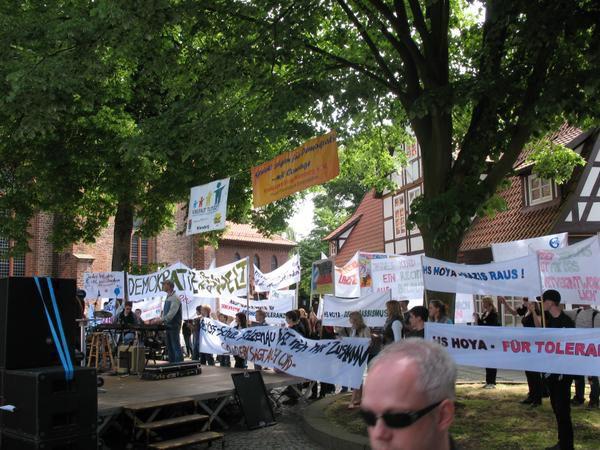 Demokratie Demo 23.05.2008 Nienburg