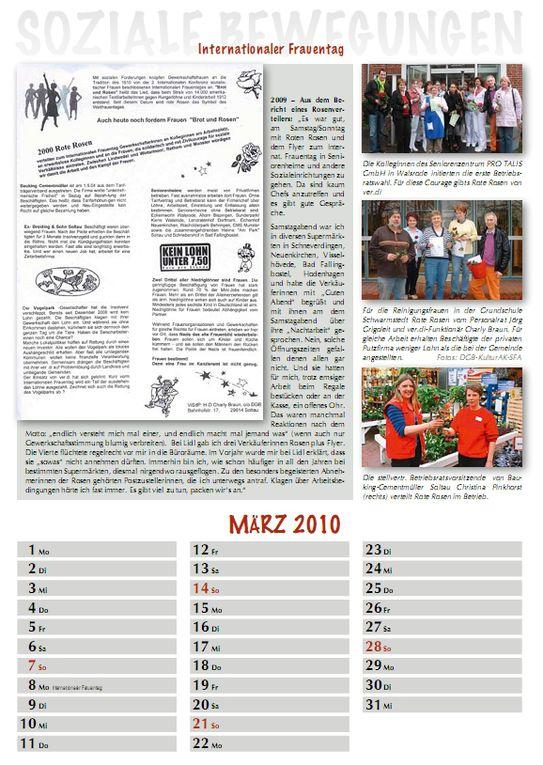 Den Kalender Soziale Bewegungen kann man bestellen:Preis 10,00 €  bei: culture.courage@yahoo.com oderzug_der_erinnerung@yahoo.de