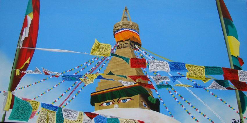 Un voyage à travers l'Inde, le Népal et le Tibet inspiré par mes souvenirs, émotions et photos personnelles.