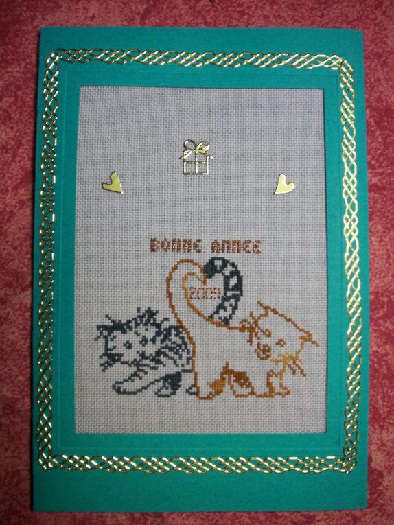 Album - Cartes Brodées