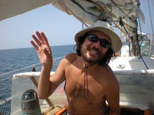 Le troisième oeil du voyage&#x3B; les photos de notre premier équipier, Steven (dit Minou)
