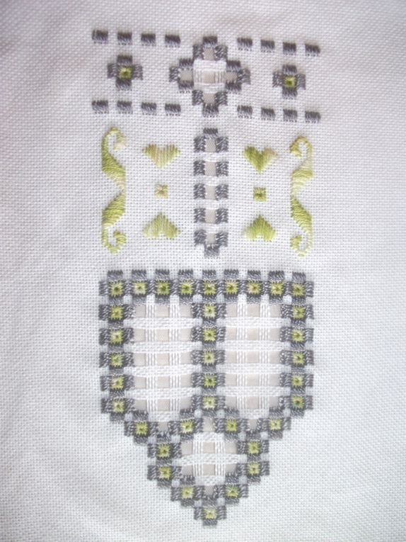 Vos broderies ( cours hardanger )