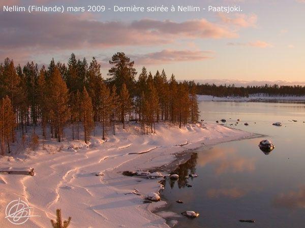 Séjour à Nellim (Finlande) Mars 2009