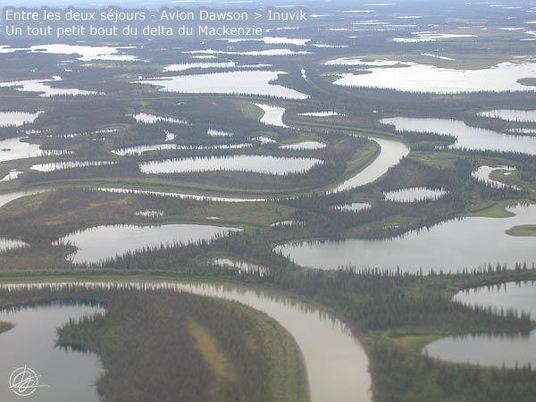 """Août 2008 - Yukon - Entre les séjours """"Big Salmon"""" et """"Porcupine"""""""