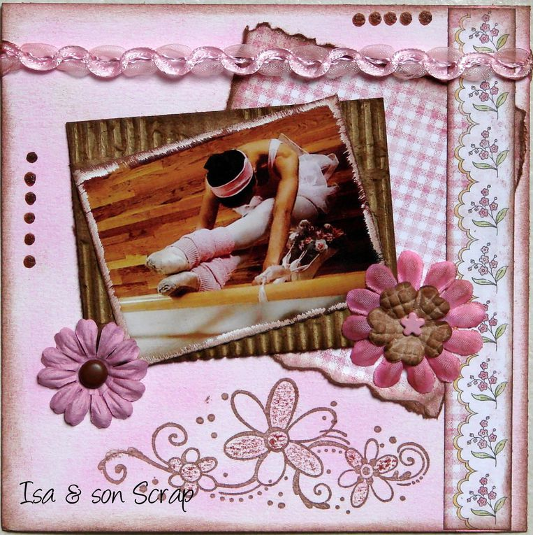 Album - 1/ Pages Shabby