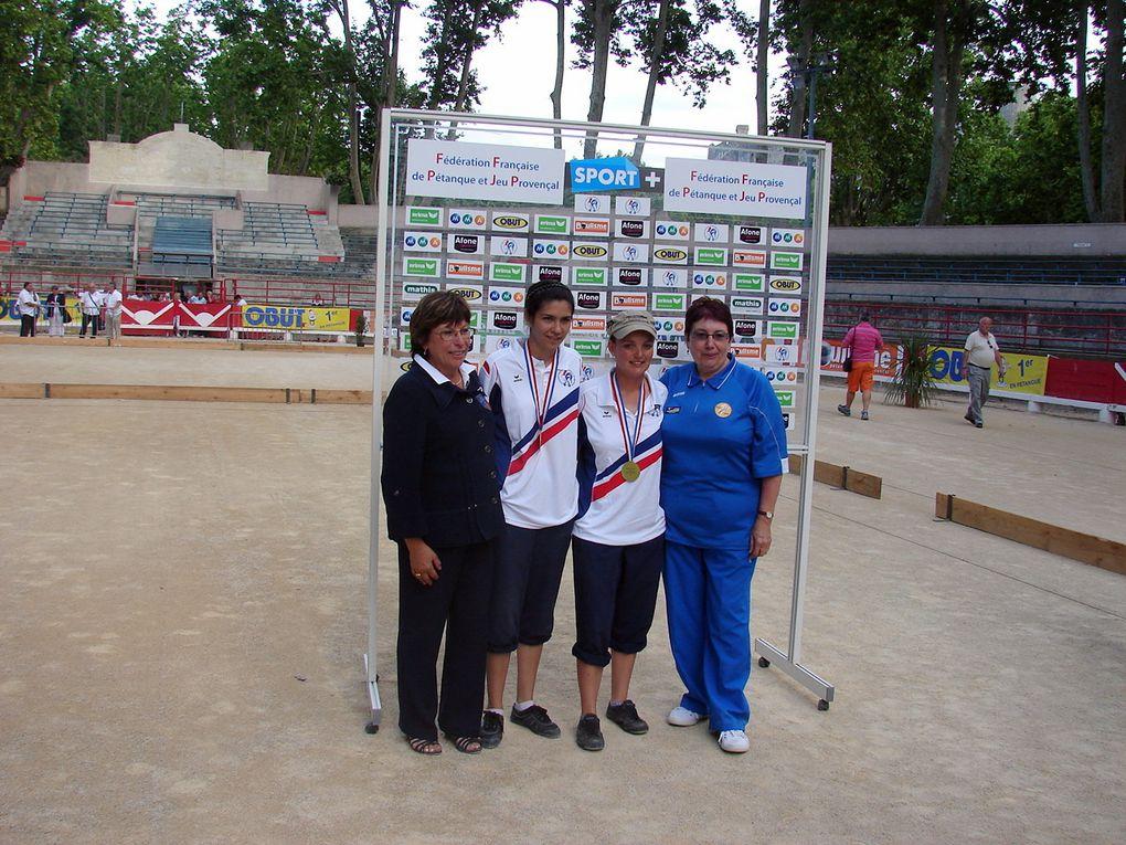 Championnat de France Doublettes Féminines