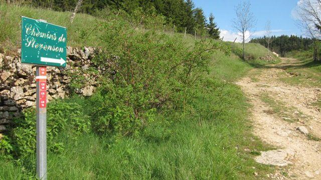 Mai 2010 : 3 jours sur les chemins de Stevenson entre la gare de Cassagnas et La Bastide-PuyLaurent