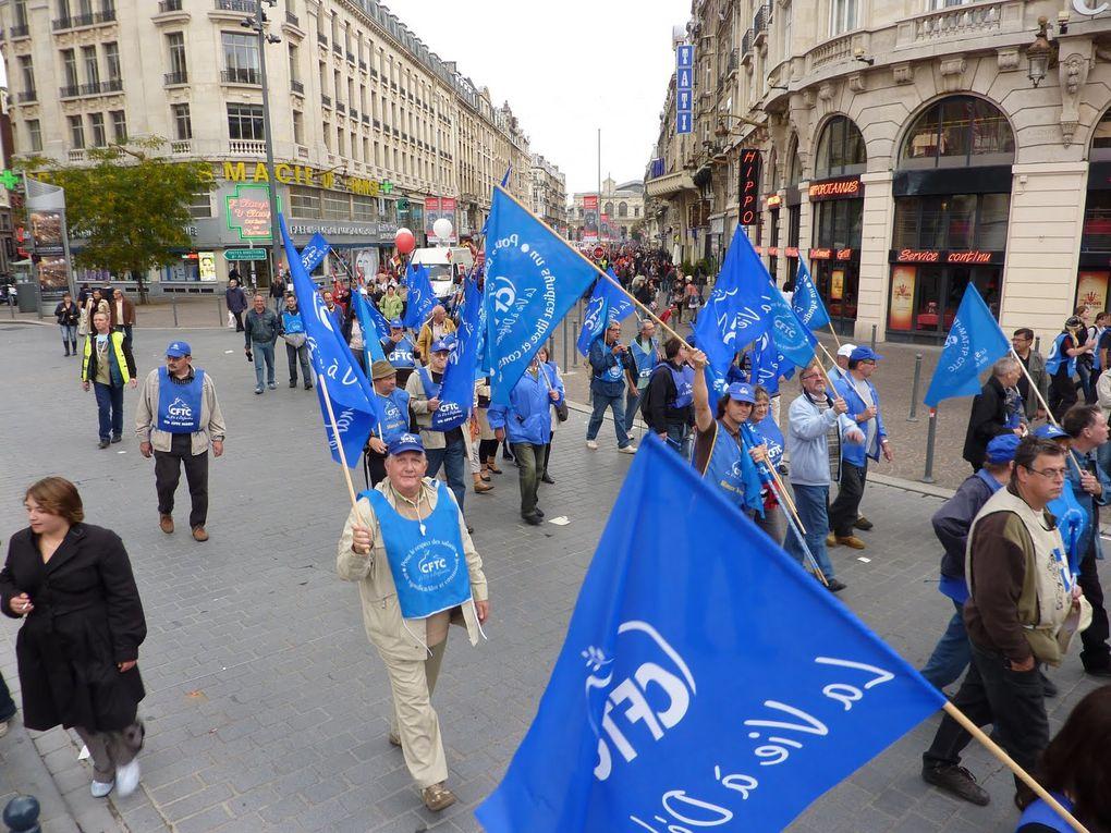 Album - 2010-23 Septembre Manifestation à Lille pour les retraites