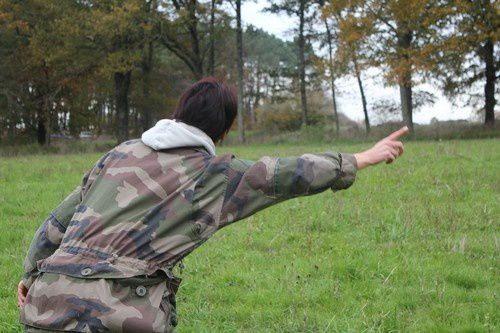 entrainement chasse