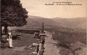 Esplanade Barrouze, Salers, Cantal