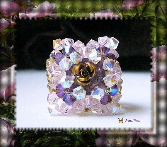 Bijoux en perles de swarovski : bagues, bracelets ...