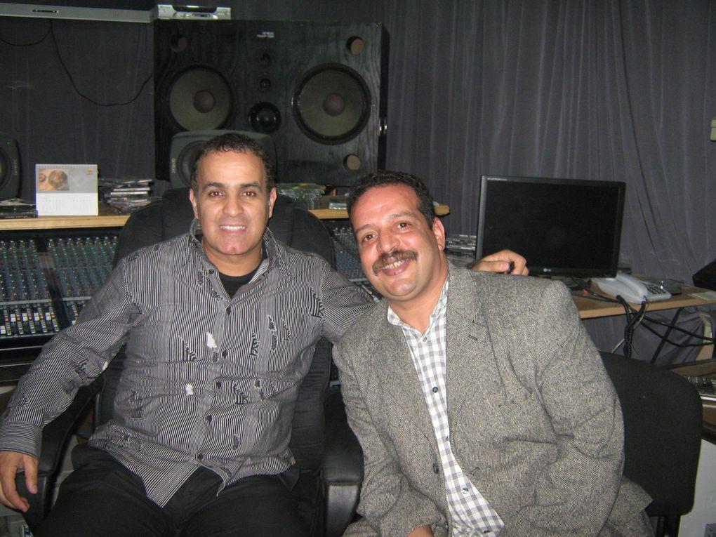 Enregistrement du nouvel album du chchanteur soufi Marouane Hajji avec Abderrahim Amrani Marrakchi