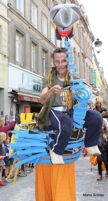 Zinneke parade à Bruxelles 2012