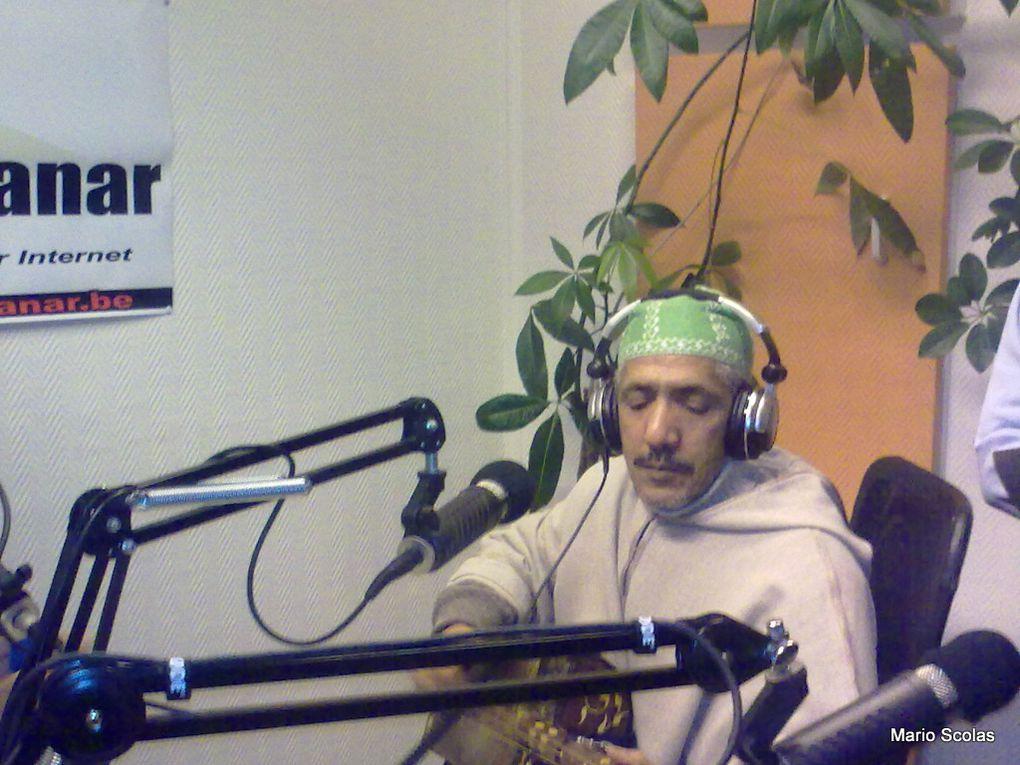 les gnawa de Bruxelles à Radio Al Manar