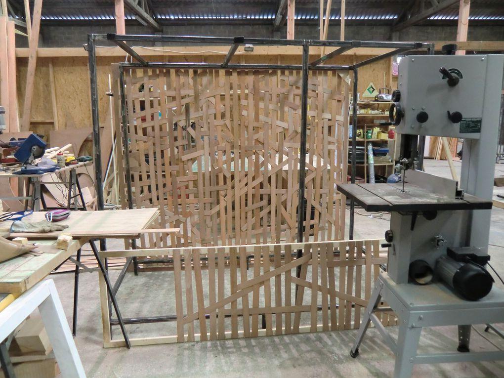 création scénographie/décor au Grand Atelier à Tournai, du 11 au 26 avril 2011