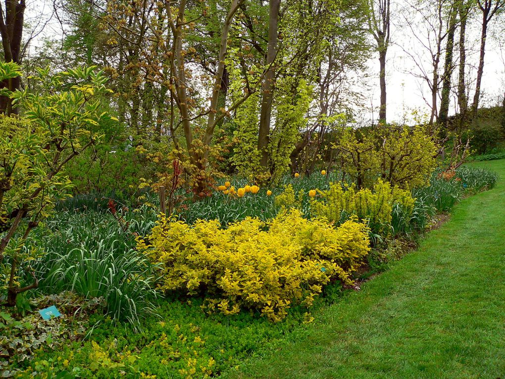 Promenade dans les jardins de Valloires