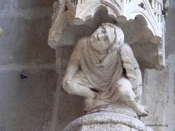 Les marmousets de la cathédrale d'Amiens