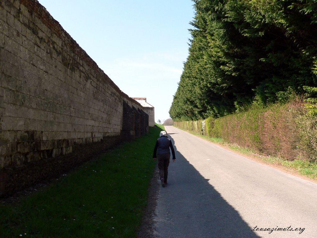 Promenade autour de l'Abbaye de Valloireset de ses jardins.