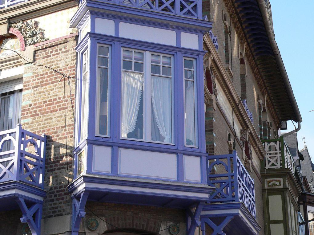 Les maisons de Mers les Bains et leur architecture balnéaire....