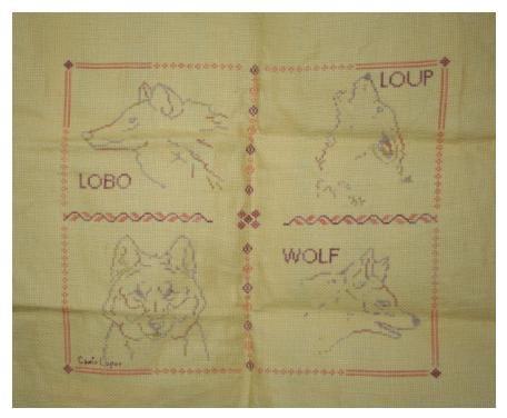 Présentation des ouvrages réalisés dans le cadre du concours en faveur des Loups Ibériques du Centre de Mafra.