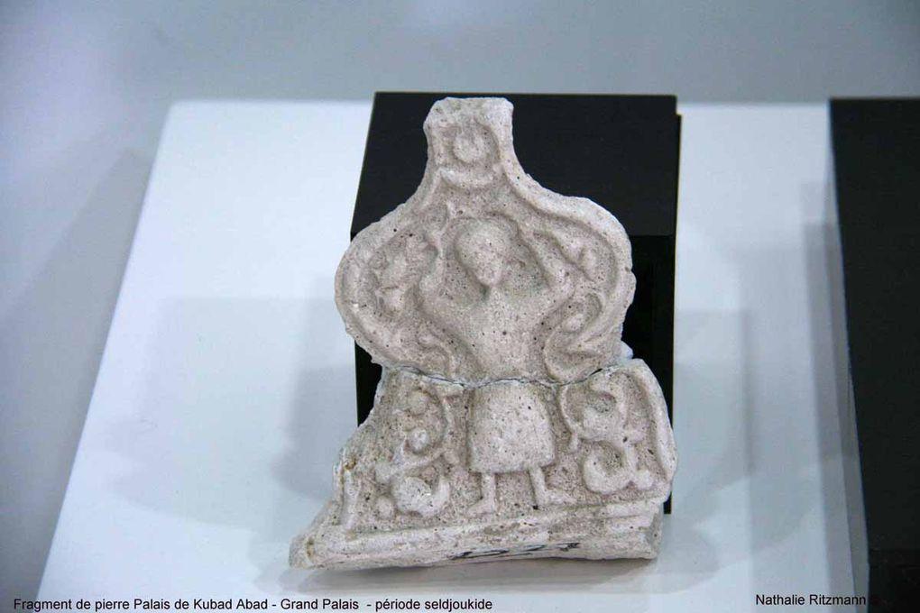 Dans cette medrese qui date de l'époque seldjoukide, des céramiques de toute beauté, en particulier celles provenant du palais de Kubad Abad au bord du lac de Beyşehir.