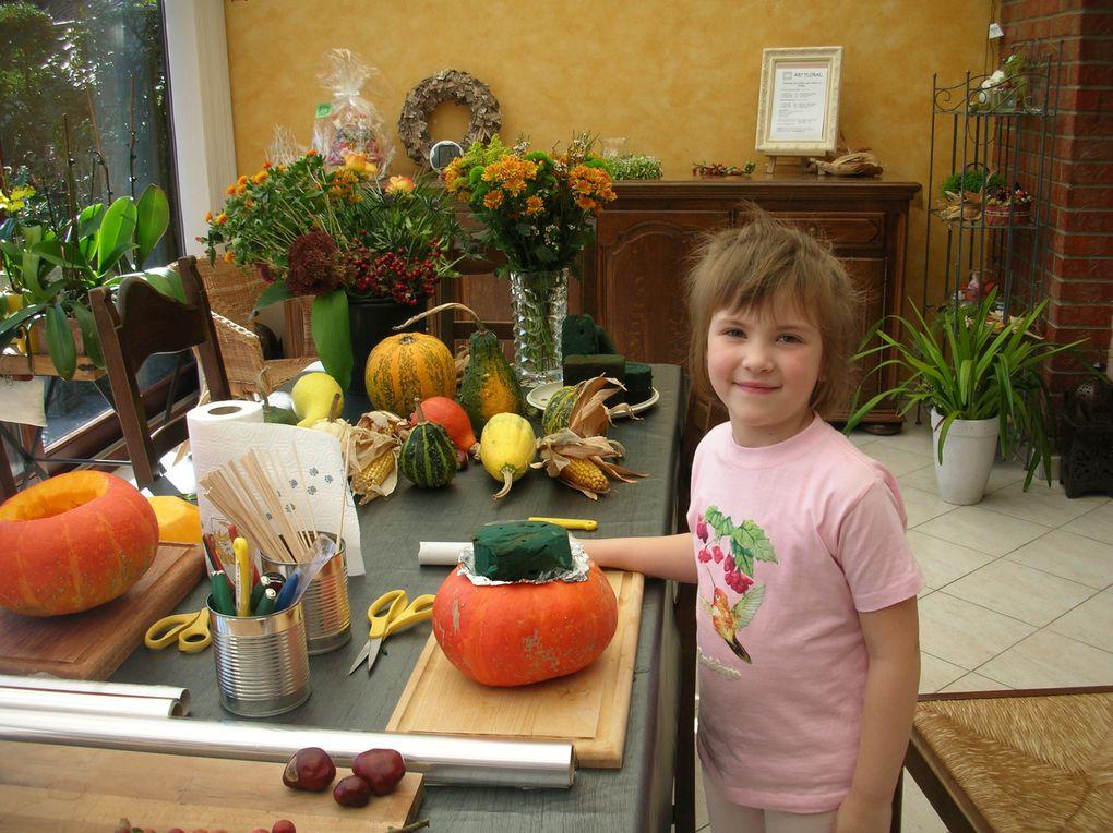 Atelier pour enfants du mois d'Octobre 2009