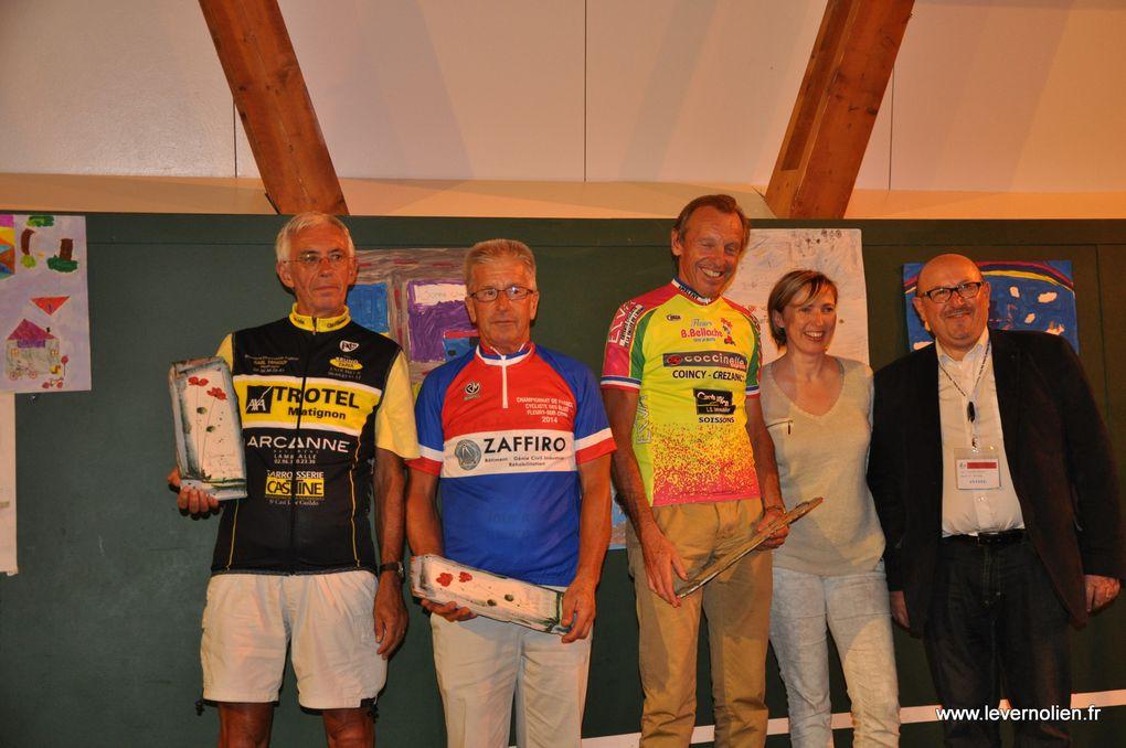 Remise des maillots de champion de France des élus sept 2014