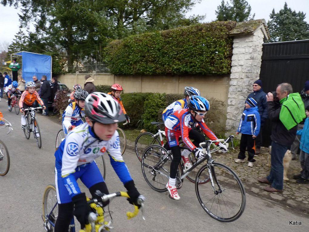 Course à Bernay et jeunes à St Lubin des Joncherets