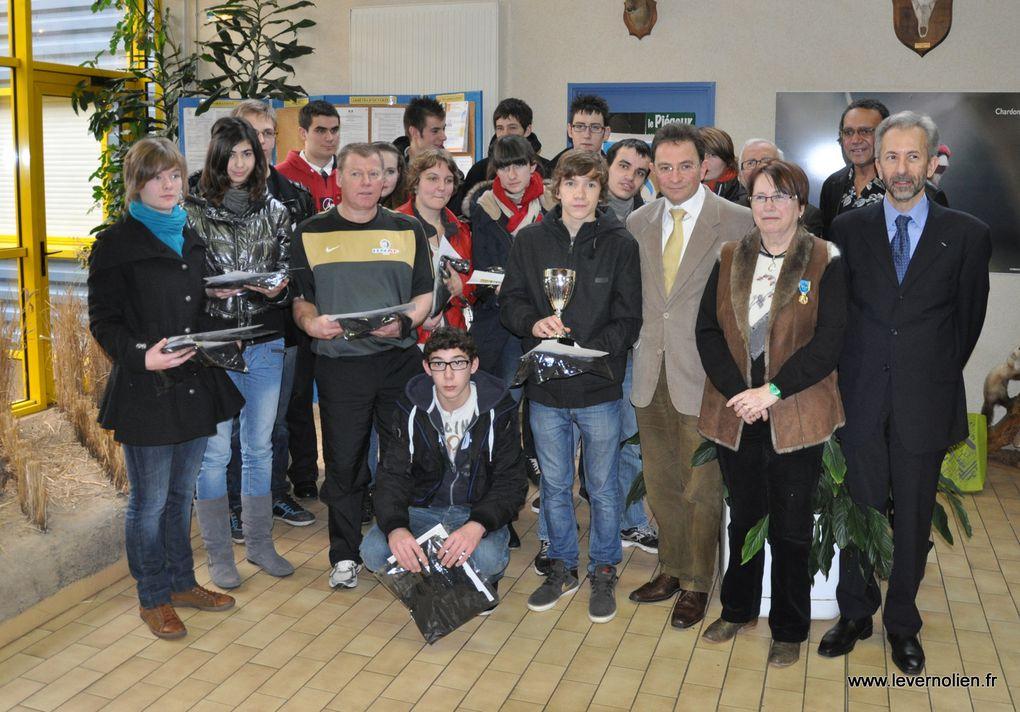 Assemblée générale des médaillés de de la jeunesse et des sports à Angerville la Campagne le 26 Janvier 2013