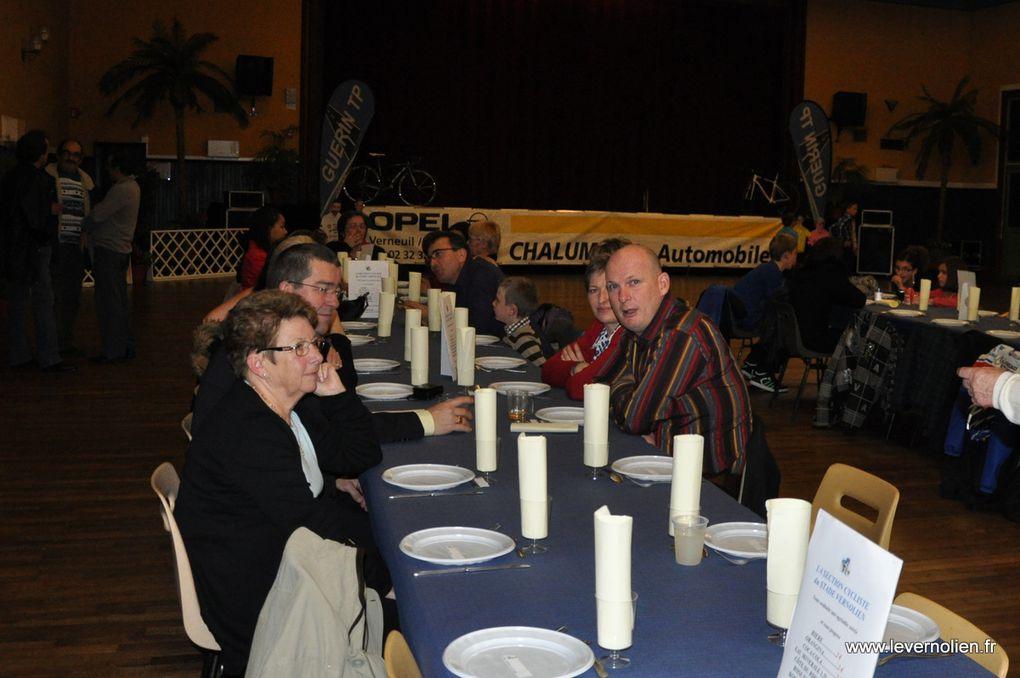 Assemblée générale et repas de fin d'année de la section cyclisme du stade vernolien