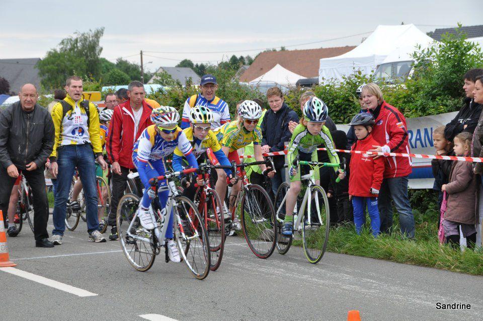 Champ. Ndie des écoles de cyclisme