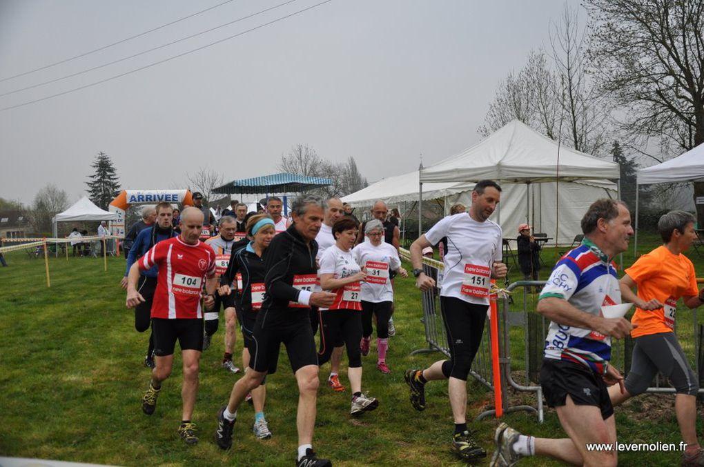 Championnat de France des élus course à pied 2012 à Villers En Arthies
