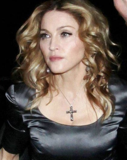 Madonna's Birthday Party at Shoreditch House - London, August 14, 2010