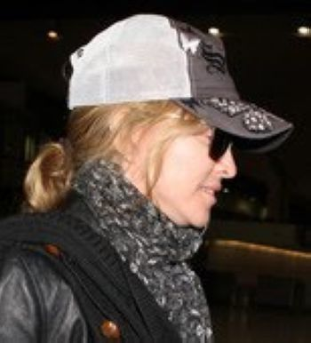 Madonna arrives in New Jersey, USA - September 02, 2010