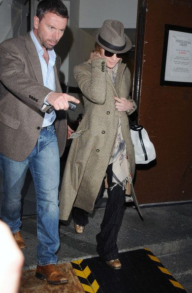 "Madonna arriving on the set of ""W.E."" in London - August 31, 2010"
