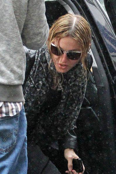 Madonna films ''W.E.'' in London - August 22, 2010