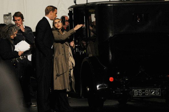 Madonna on the set of ''W.E.'' in London - August 31, 2010