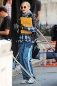 Madonna on the set of ''W.E.'' in NY - September 14, 2010