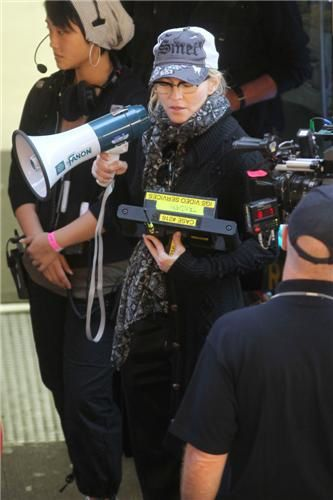 Madonna on the set of ''W.E.'' in Brooklyn, NY - September 15, 2010