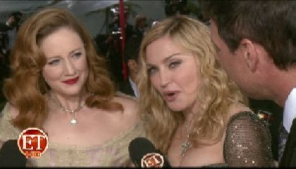 Madonna at the 69th Annual Golden Globe Awards held at The Beverly Hilton Hotel - Press Room Los Angeles, California, January 15, 2012.